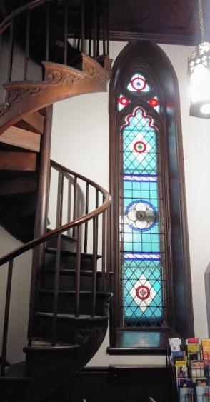 church stairs